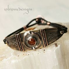 Wire work on bracelet