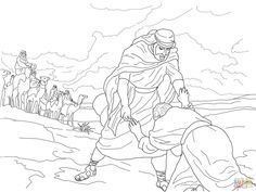 esaus birthright coloring pages - photo#23