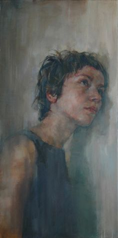 Shaun Ferguson paintings. A very naturalistic, yet gritty style.