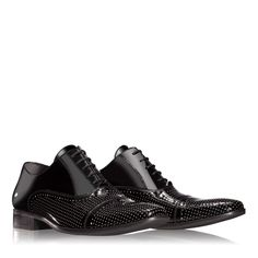 Anna Cori - Incaltaminte, genti si accesorii - Incaltaminte 1289.5 VERNICE NERO Natural Rubber, Formal Shoes, Spring Summer 2016, Men's Collection, Patent Leather, Oxford Shoes, Anna, Dress Shoes, Lace Up