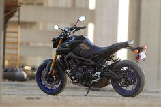 2) Best Middleweight Streetbike: Yamaha FZ-09 (cont.) The best aspect of the FZ-09? At $7,990, it's an incredible value. Don't be surprised to see more manufactures start building sporty bikes like this Yamaha