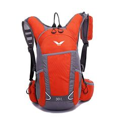 FW Waterproof ultra lightweight outdoor backpack hiking backpack shoulder riding sports men and women ** Tried it! Love it! Click the item shown here. : Backpacking gear