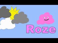 ▶ Kleuren Leren en Tellen Peuters Kleuters Kinderfilmpje Het Toverwolkje - YouTube