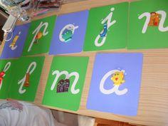 Les alphas et les lettres rugueuses Plastic Cutting Board