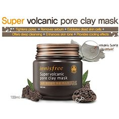 [Innisfree] Super Volcanic Pore Clay Mask 100ml -- For more information, visit image link. (This is an affiliate link and I receive a commission for the sales) #PersonalCare