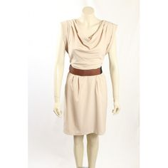 Great casual dress from Calvin Klein that can easily be dressed up. The dress has a cowl neck and comes with an accessory belt. Hot Dress, Dress Up, Exclusive Collection, Cowl Neck, Designer Dresses, Casual Dresses, Calvin Klein, Size 12, Two Piece Skirt Set