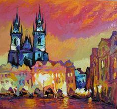 Painting by Sergey Yatnov (Russia) Barnett Newman, Alex Colville, Carl Larsson, Audrey Kawasaki, Andrew Wyeth, Akira, Banks, Bo Bartlett, Earl Moran