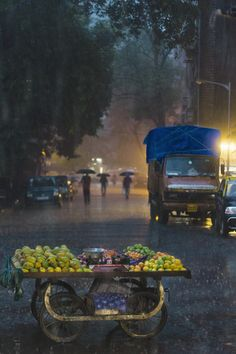 The Fruit Cart | Monsoon in Bombay by Aneel Neupane on 500px