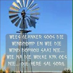 Wees geanker soos die Here sal sorg. Birthday Wishes For Men, Birthday Quotes, Butterfly Room, Diy Pallet Wall, Goeie Nag, Goeie More, Afrikaans Quotes, Prayer Verses, Zodiac Society