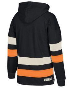 Ccm Men's Philadelphia Flyers Pullover Jersey Hoodie - Black XXL