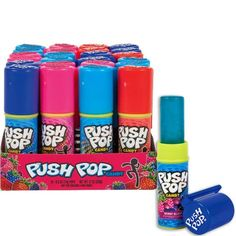 Topps Push Pops Candy - 24 Count Box - Party City