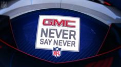 NFL announces the cadidates of the GMC Never Say Never Award!