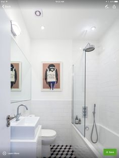 Shower-tub, size, Houzz: https://www.houzz.com/photos/16425616/Cathnor-Road-contemporary-bathroom-london