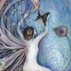 SYLPH Fairy Art Print by redwhisper on Etsy