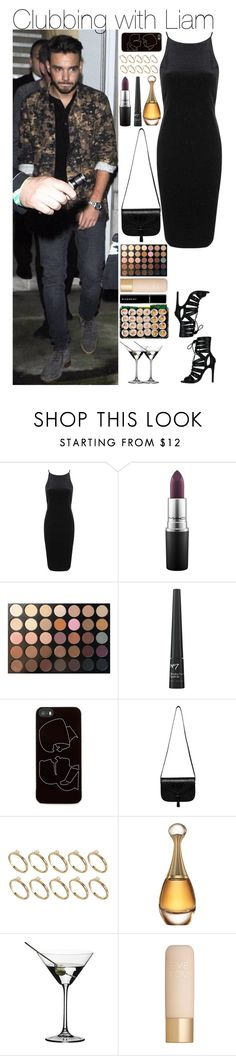 """""""Clubbing with Liam"""" by mrspayne-1d ❤ liked on Polyvore featuring Topshop, MAC Cosmetics, Morphe, Zero Gravity, A.P.C., ASOS, Christian Dior, Riedel, Eve Lom and Givenchy"""