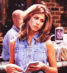 HAHA well i've now been told by multiple people that I am like Rachel Green. Makes sense. I'm so not as anal and competitive as monica. Jean vest. Perfect.
