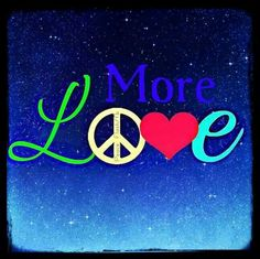 Peace And Love....