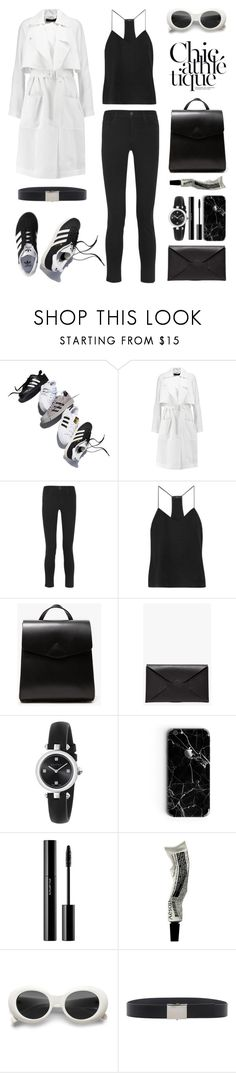 """Unbenannt #1006"" by fashionlandscape ❤ liked on Polyvore featuring adidas, adidas Originals, TIBI, J Brand, VereVerto, Gucci, shu uemura, Aesop and Joseph"