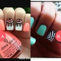 Which nails r cuter