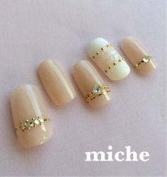 10 Japanese Nail Art Recommended by a Japanese Girl_Ring nails