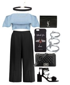 """Untitled #74"" by franciscanunes on Polyvore featuring Zara, Humble Chic, Chanel, Gucci, Yves Saint Laurent and French Connection"
