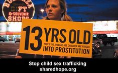 Child prostitution is against the conscience of mankind!