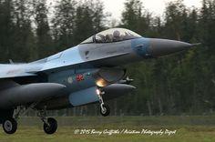 LAUNCH: RED FLAG-ALASKA 15-3 General Dynamics F-16C Viper USAF 86-0282 18th Aggressor Squadron (AGRS)