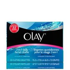 Olay 2In1 Daily Facial Cloths 132 Count for Normal Skin *** Click affiliate link Amazon.com on image for more details.