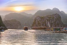 Halong Bay landscape, Vietnam by sweet spot on Creative Market