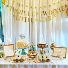 Twinkle twinkle little star 💫🌟🌙more pics on our story! #babyshower #twinkletwinklelittlestar #partyideas #sweettable #macarons #cake #cupcakes #sweets #gold #babyboy #piermontny #14andhudson #babyblue #tablescape #eventplanner by 14andhudson. sweets #babyshower #piermontny #partyideas #twinkletwinklelittlestar #babyblue #cake #tablescape #eventplanner #cupcakes #14andhudson #macarons #gold #babyboy #sweettable #meetingprofs #eventprofs #events #eventplanning #eventplanner #eventtech…