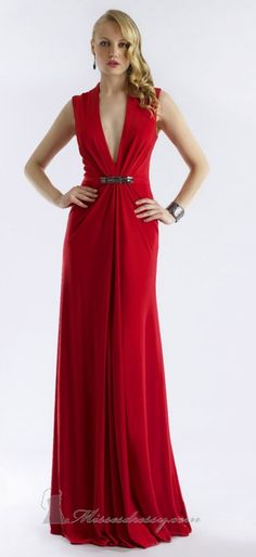 30 Gorgeous  Evening Dresses For A Special Occasion  Always wanted a red dress :)