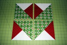 Ryan Walsh Quilts, Modern Quilts, Sewing, Home Decor, Fabric: Ryan's Holiday Ribbon Block - Celebrate Christmas Quilt Along