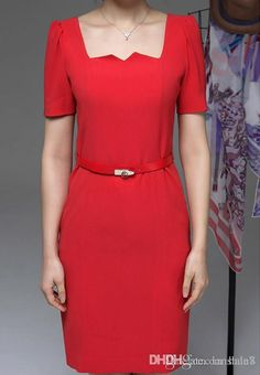 Choosing wholesale dresses for pregnant women ropa embarazada 2015 summer new dress fashion ol career woman big yards short sleeve slim tuxedo high quality online? DHgate.com sells a variety of work dresses for you. Buy now enjoy cheap price.