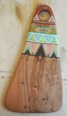 'neon tribes' | handcrafted reclaimed spalted queensland maple sheeseboard
