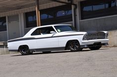 "This is Alex Covington's 1967 Nova named ""Innovator"" and build by Roadster Shop's Jeremy and Phil Gerber."