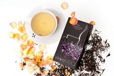 Aurile SERENITY WHITE TEA Herbata biała Pai Mu Tan z dodatkiem płatków róży