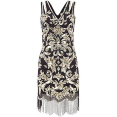 Buy your Frock and Frill Alessa Sleeveless All Over Sequin Flapper Dress  online now at House of Fraser. Why not Buy and Collect in-store  e3d0137c2cf7a