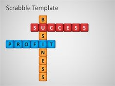 Scrabble Powerpoint Template - sample PowerPoint Presentation PPT #powerpoint #slides #SlideHunter.com