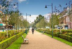 letchworth garden city -Rua da cidade atualmente