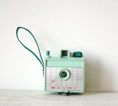 Vintage Mint Green Imperial Savoy Camera by GallymoggerOddities, $72.00