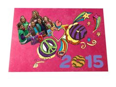 Girls make all kinds of memories through the Girl Scout Cookie program. Now they can save those memories with a super-simple collage place mat.