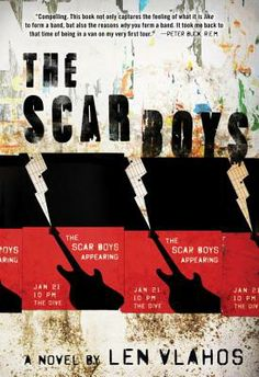 The Scar Boys By Len Vlahos. Great read with themes of bullying, bands-music, friendships. 1st kiss, & so much more.. Loved it!