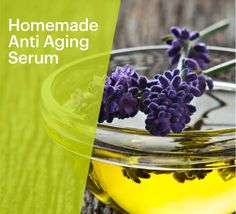 Anti aging serums can be expensive and contain harmful chemicals. Instead, try this homemade anti aging serum recipe! It contains nutrients and antioxidants that will help the skin look vibrant and youthful while delivering vital nutrients and hydration! Homemade Anti-Aging Serum INGREDIENTS: 1/4 oz Jojoba Oil 1/4 oz Evening Primrose Oil 1/4 oz pomegranate oil 15 drops Vitamin E 20 drops lavender oil or frankincense oil 10 drops Carrot Seed Oil Mix all of the ingredients together.