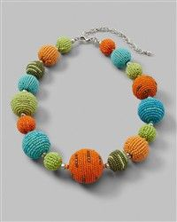 Chicos Necklace-perfect spring and summer colors!