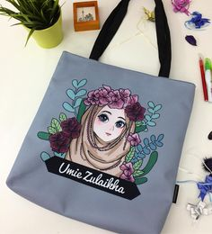 'FLOWER GIRL' Illustration by @pja.ayeob on Creative United. Get your own one of a kind personalized #totebag. DM artist to order. . Click link in bio @creativeunited.my to visit Creative United Malaysia's largest art marketplace. Follow us for daily dose of cool artworks by Malaysian indie artists and designers. Showcase and sell your works as products on Creative United without any cost. Join us! . #creativeunitedmy #creativeunited #madeinmalaysia #malaysiaart #lokalah #lokalart #misiviral…