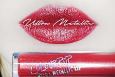 Colourpop Ultra Metallic Lip Review and Swatches Lip Swatches, Colourpop Cosmetics, Lip Colors, Makeup Looks, Skincare, Metallic, Lipstick, Blog, Beauty