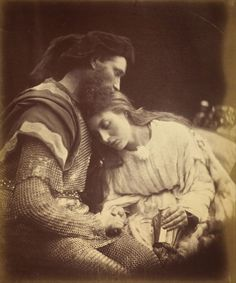 The Parting of Lancelot and Guinevere: In 1874