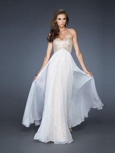 A-Line/Princess Sweetheart Floor-Length Perfect Chiffon Dress With Beading