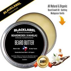 BlackLabel balms provide beard conditioning with Argan and Jojoba oils to deeply penetrate and moisturize the hair follicles while Shea Butter and Beeswax seal Natural Beard Growth, Beard Growth Oil, Best Beard Balm, Beard Butter, Beard Shapes, Beard Conditioner, Beard Care, Jojoba Oil