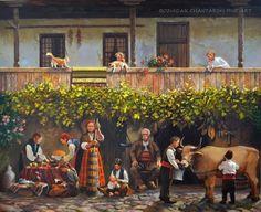 Painting, Bulgaria, Art, Europe, Suits, Art Background, Painting Art, Kunst, Paintings